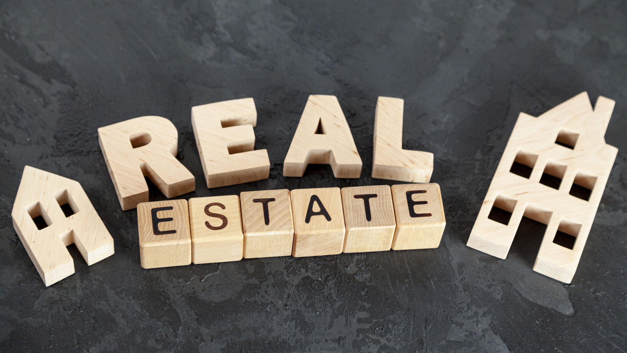 top view real estate lettering scaled